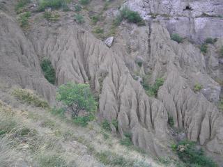 обои Структура крымских скал фото