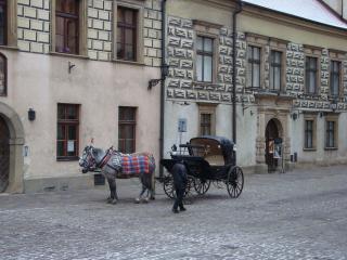обои для рабочего стола: Старая улица люблина
