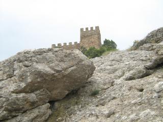 обои Генуэзская крепость фото