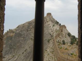 обои Стена крепости в судаке фото