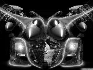 обои Абстракция мотора ммашины фото
