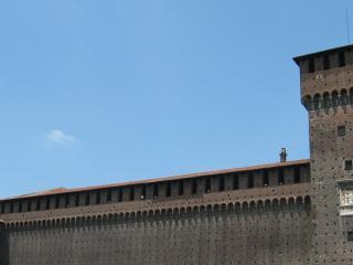 обои Замок сфорца в милане фото