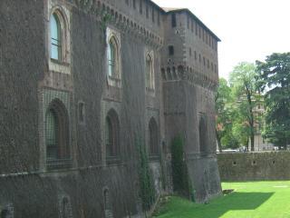 обои Стены замка сфорца в милане фото