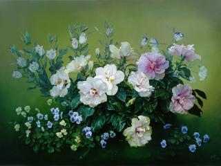 обои Букет цветов - Нежность фото