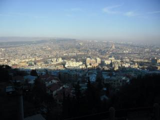 обои Панорама тбилиси фото