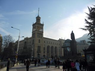 обои для рабочего стола: Пейзаж города тбилиси