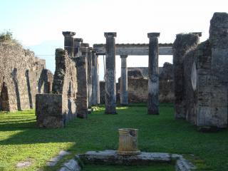 обои Город Помпей уничтоженный вулканом фото