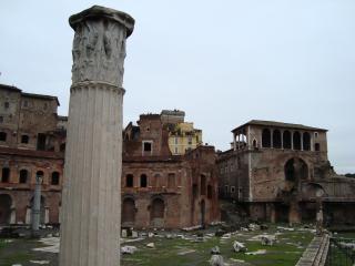 обои для рабочего стола: Колонны храма сатурна в риме