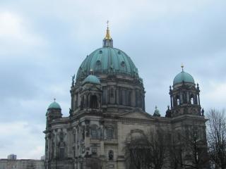 обои Купола здания собора в берлине фото