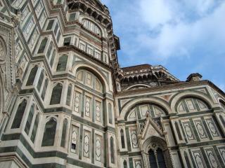 обои Фасад знаменитого собора во флоренции фото
