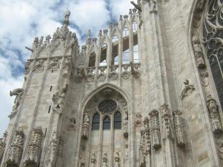 обои Шедевры мировой архитектуры-собор миланский фото