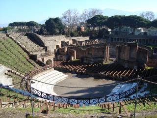 обои Амфитеатр Помпея фото