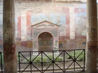 обои Росписи зданий старого Помпея фото