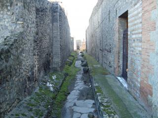 обои Улицами древнего города Помпея фото