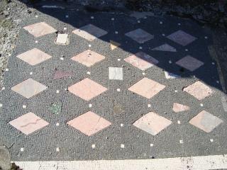 обои Уцелевшая мозаика Помпея фото