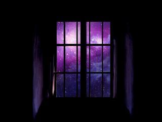обои Окно в космос,   волшебный сон фото