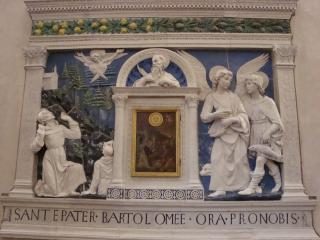 обои Икона с барельефом святых фото