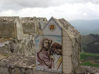 обои Лики святых на сицилийской горе фото