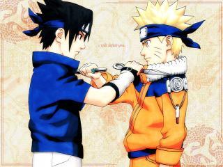 обои Naruto двое фото