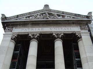 обои Вид монумента в честь римского короля фото