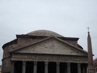 обои Вид на пантеон в Риме фото