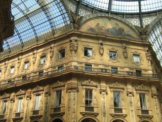 обои Галерея в Милане фото