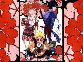 обои Naruto втроем фото