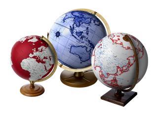 обои для рабочего стола: Три глобуса