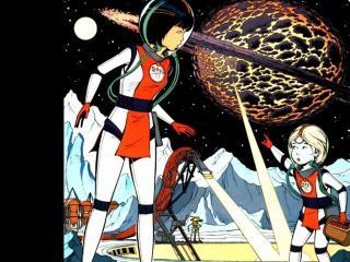 обои Yoko Tsuno. На незнакомой планете фото