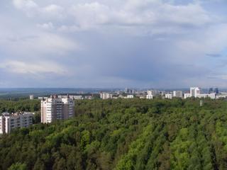 обои Вид с балкона фото