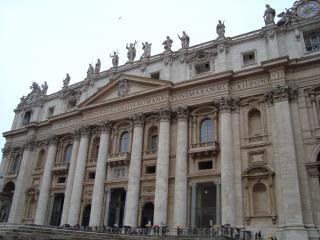 обои Фасад Мадерно в Риме фото