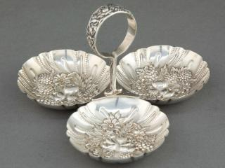 обои Серебряная салатница фото