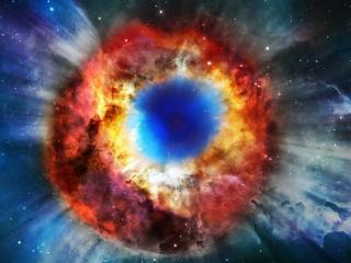 обои Космический глаз фото