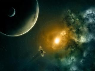 обои Неизведанная вселенная космоса фото