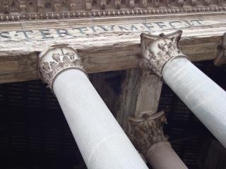 обои Колонны пантеона фото