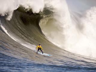 обои Серфингист и вал воды фото