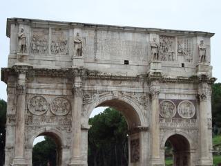 обои Одна из арок Рима фото