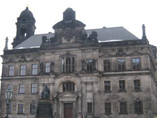 обои Старинные строения Дрездена фото