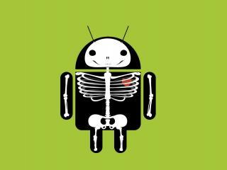 обои Скилет Android фото
