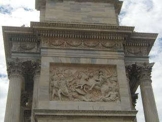 обои Триумфальная арка Милана фото