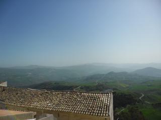 обои Крыши зданий сицилийского городка фото