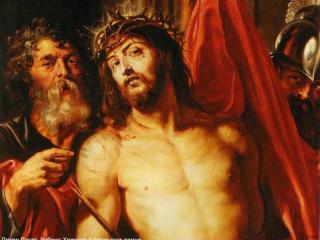 обои Рубенс - Христос в терновом венце фото