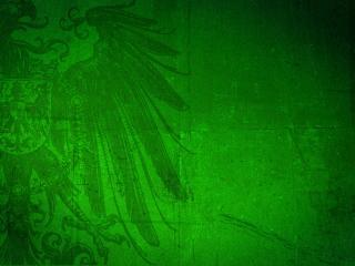 обои Рисунок орла на зеленом фото