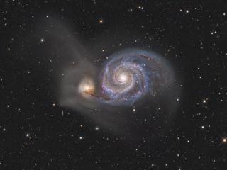 обои Неизвестная галактика фото