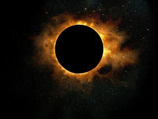 обои Солнечное затмение фото
