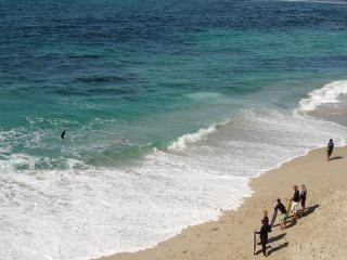 обои Серфингисты на берегу,   прибой фото