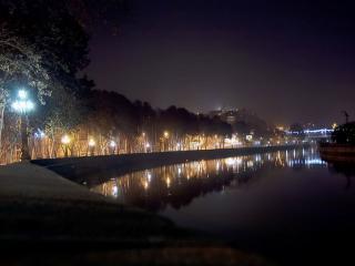 обои Фонари,   фонари,   вы светите в ночи фото