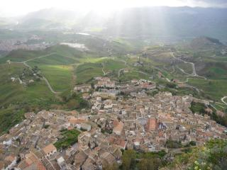 обои Вид сицилийских поселений фото