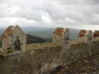 обои Лики святых на пути в храм на сицилии фото