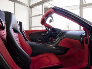 обои Bugatti Veyron Grand Sport Roadster Vitesse 2012 салон фото